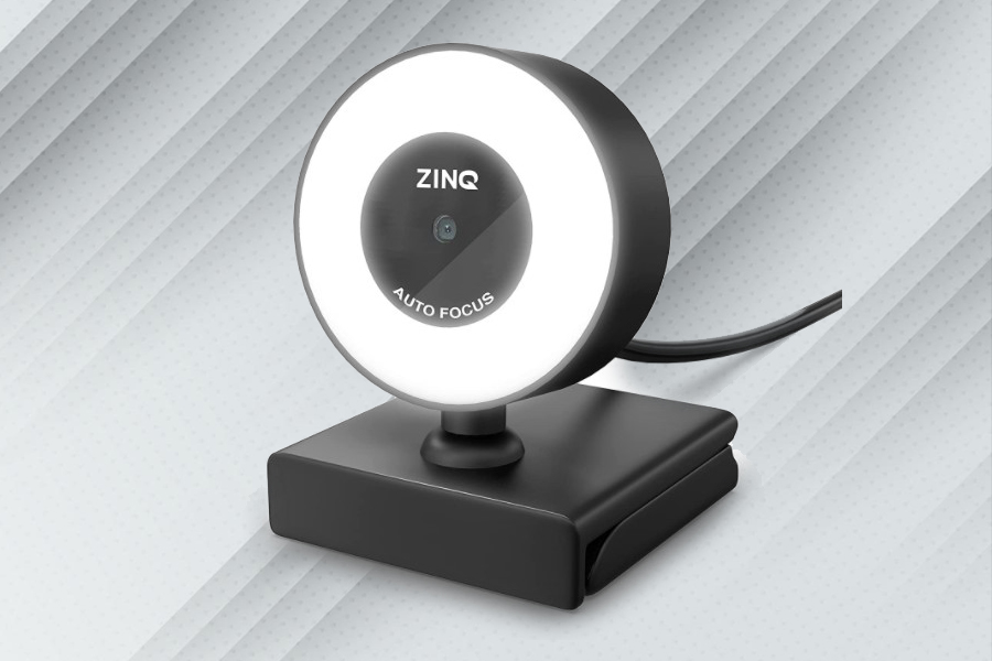 ZinQ Technologies launches 'Ring Light Webcam' for video calls at Rs 1,499